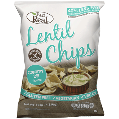 cofresh, eat real lentil chip cream dill