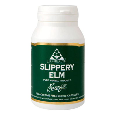 bio health, slippery elm 300mg
