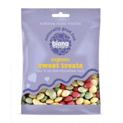 biona, chocolate coated drops