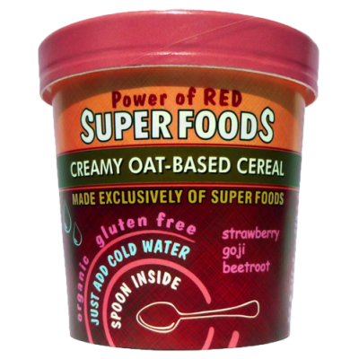 of the earth, power of red superfood pot