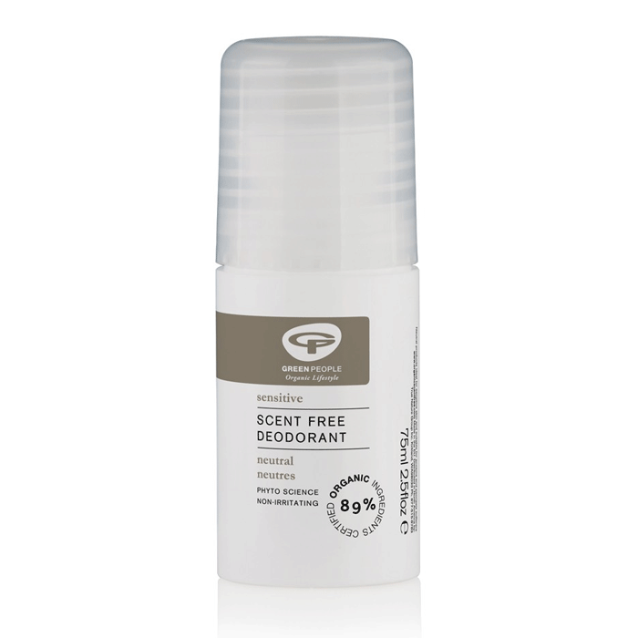 green people, neutral scent free deodorant