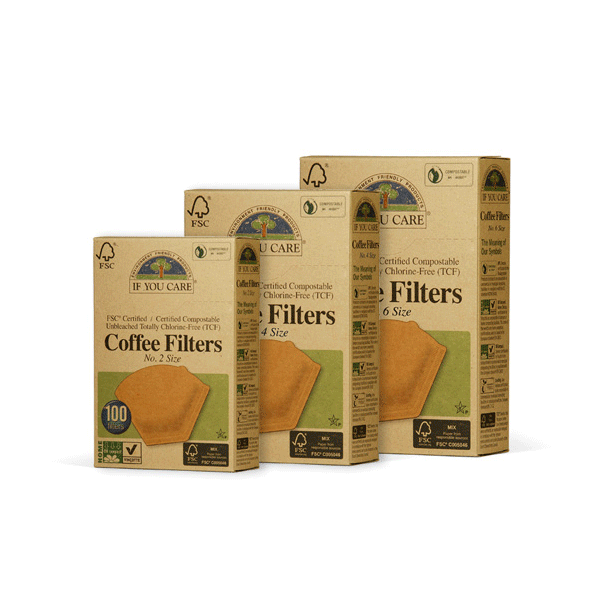if you care, coffee filters no.4 unbleached
