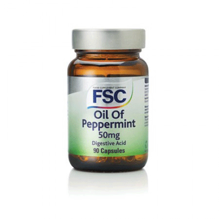 fsc, peppermint oil 50mg