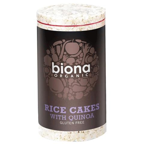 biona, rice cakes with quinoa