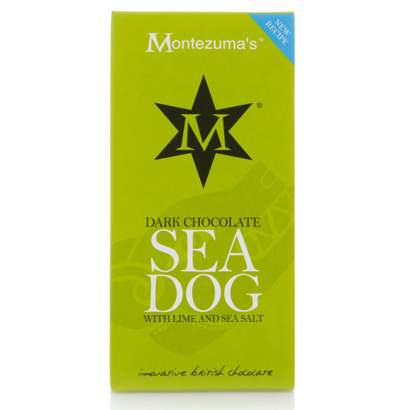 montezumas, dark chocolate sea dog bar