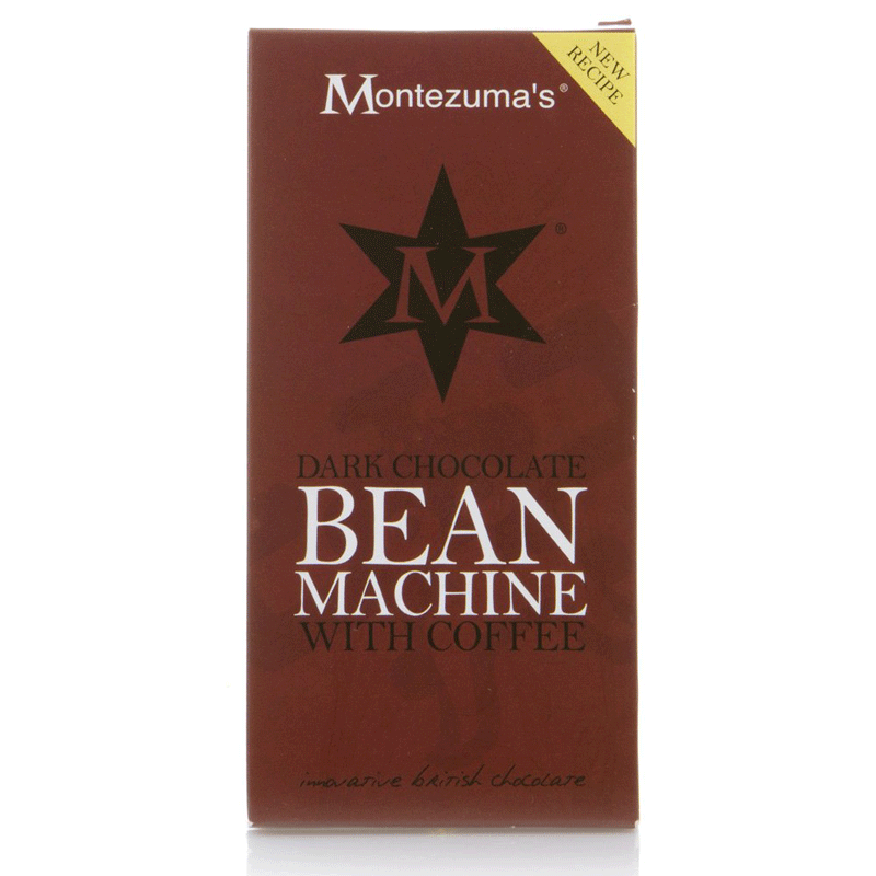 montezumas, dark chocolate & coffee - bean machine bar
