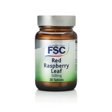 fsc, red raspberry 500mg