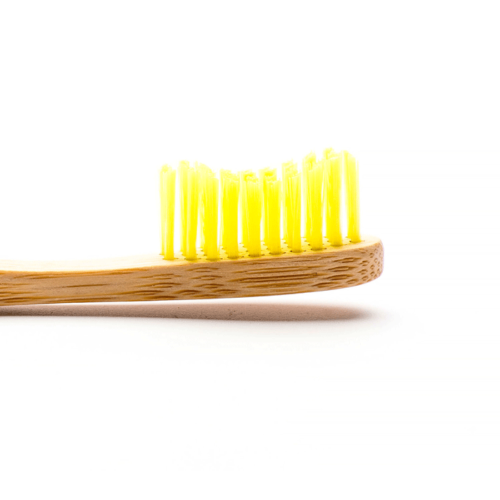 humble brush, adult yellow soft toothbrush